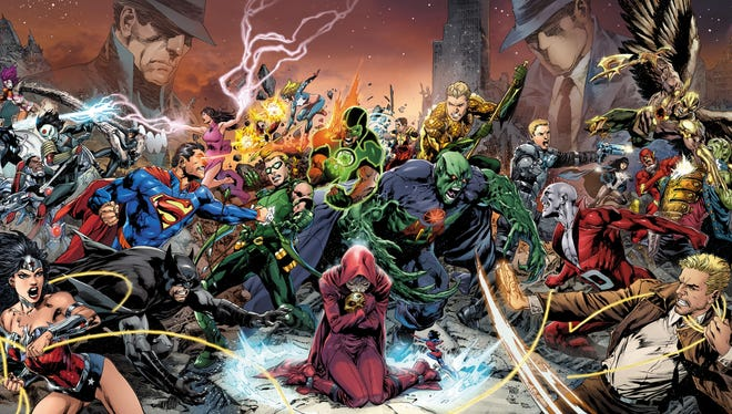 The mysterious Pandora is at center of an all-out battle between the three Justice Leagues.