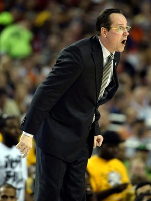 """Wichita State coach Gregg Marshall told his team at halftime if they played """"well"""" they were only 20 minutes from the national title game."""