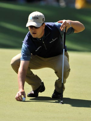 """""""You try to lag them, and if they go in, they go in,"""" 2007 Masters winner Zach Johnson says of putts at Augusta National."""