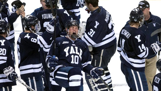 Mitch Witek and the rest of the Yale Bulldogs have reached the national semifinals for the first time since 1952.