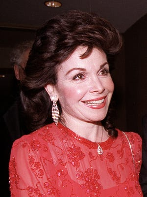 Annette Funicello on Oct. 20, 1990 in Washington.