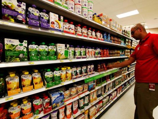 baby food supermarket