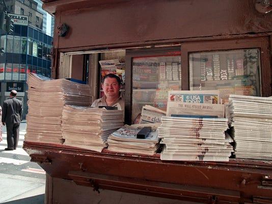 newsstand newspapers