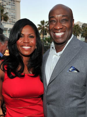 Omarosa and Michael Clarke Duncan dated until his death last fall.