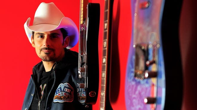 Brad Paisley's new 'Wheelhouse' album addresses the Confederate flag, civil rights and other Southern complications.