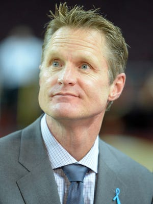 Steve Kerr will join fellow analysts Reggie Miller and Chris Webber on Thursday night as the announcers to call the Oklahoma City-Golden State game.