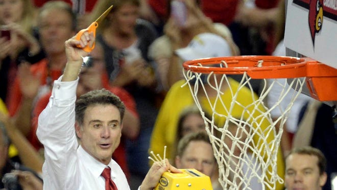 Louisville coach Rick Pitino must follow through on his promise and get a tattoo after his team won the national championship.