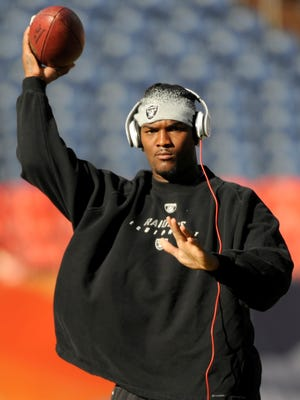 JaMarcus Russell is down from 315 pounds to 281 in hopes of making an NFL comeback.