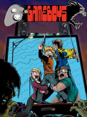 A teenage hero comes to the fore in Neil Herndon's comic-book debut, 'Game Boys.'