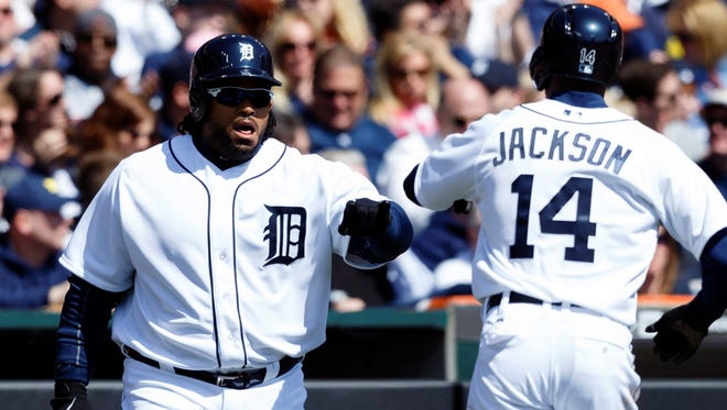 Prince Fielder and Austin Jackson of the Detroit Tigers are among the 7.7% of major leaguers who are African American.