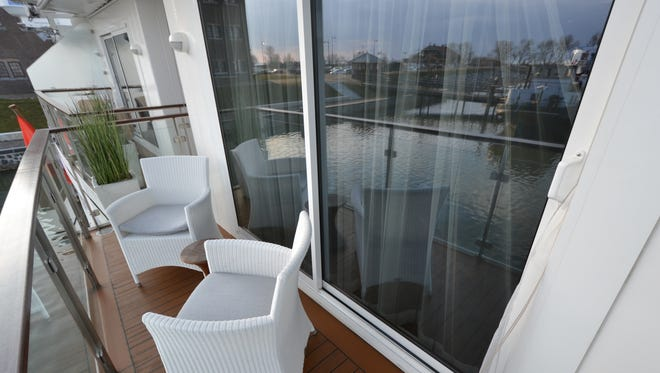 Explorer Suites on the Viking Bragi feature wrap-around balconies -- a rarity on river ships. Some passengers say that having a balcony on smaller ships alleviates claustrophobia and maximizes opportunities to enjoy the scenery.