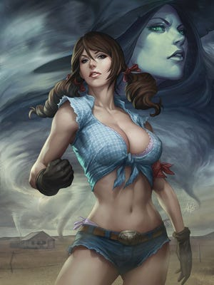 """Dorothy Gale and the rest of the gang get a modern makeover for Zenescope's upcoming """"Oz"""" series."""