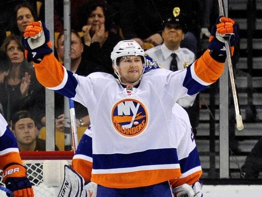 Josh Bailey Scores Two As Islanders Edge Bruins