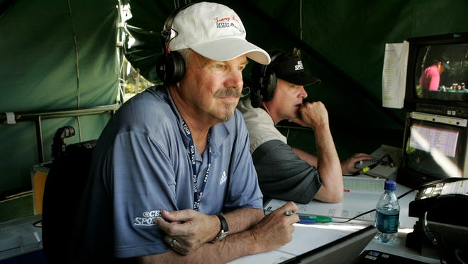 CBS analyst Gary McCord works all of the network's golf events -- except the Masters.