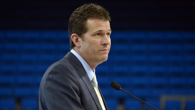 UCLA coach Steve Alford apologized for his handling of a sexual assault case involving Pierre Pierce while coaching the Iowa men's basketball team