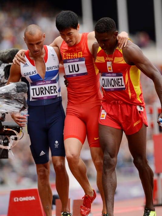 Liu Xiang is out for season with injury