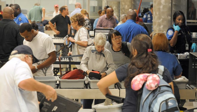Travelers left more than half a million dollars, much of it in loose change, at TSA security checkpoints last fiscal year. One lawmaker is seeking to have the money donated to the USO.