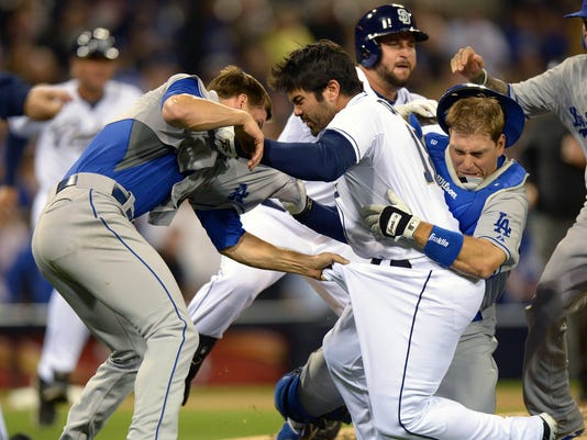 2013-04-11-dodgers-padres-fight