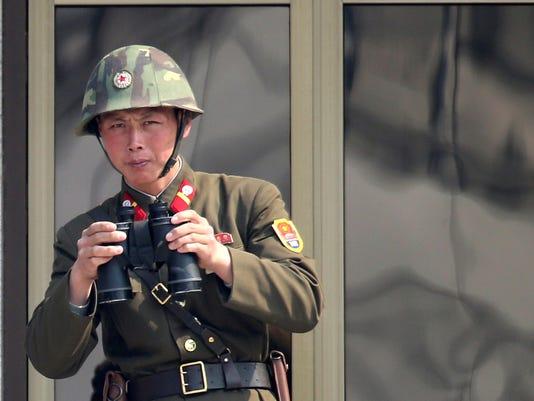 north korean solider