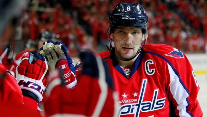 Washington Capitals winger Alex Ovechkin has been celebrating a lot of goals recently.