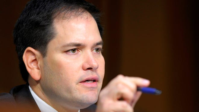 Sen. Marco Rubio, R-Fla., appeared on seven talk shows Sunday to outline his immigration overhaul plan.