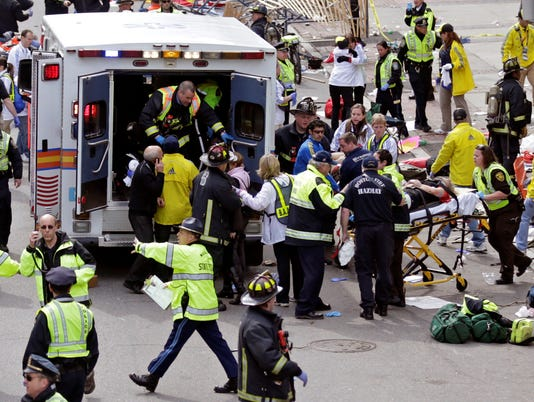 Boston Marathon finishes with shock: Our view