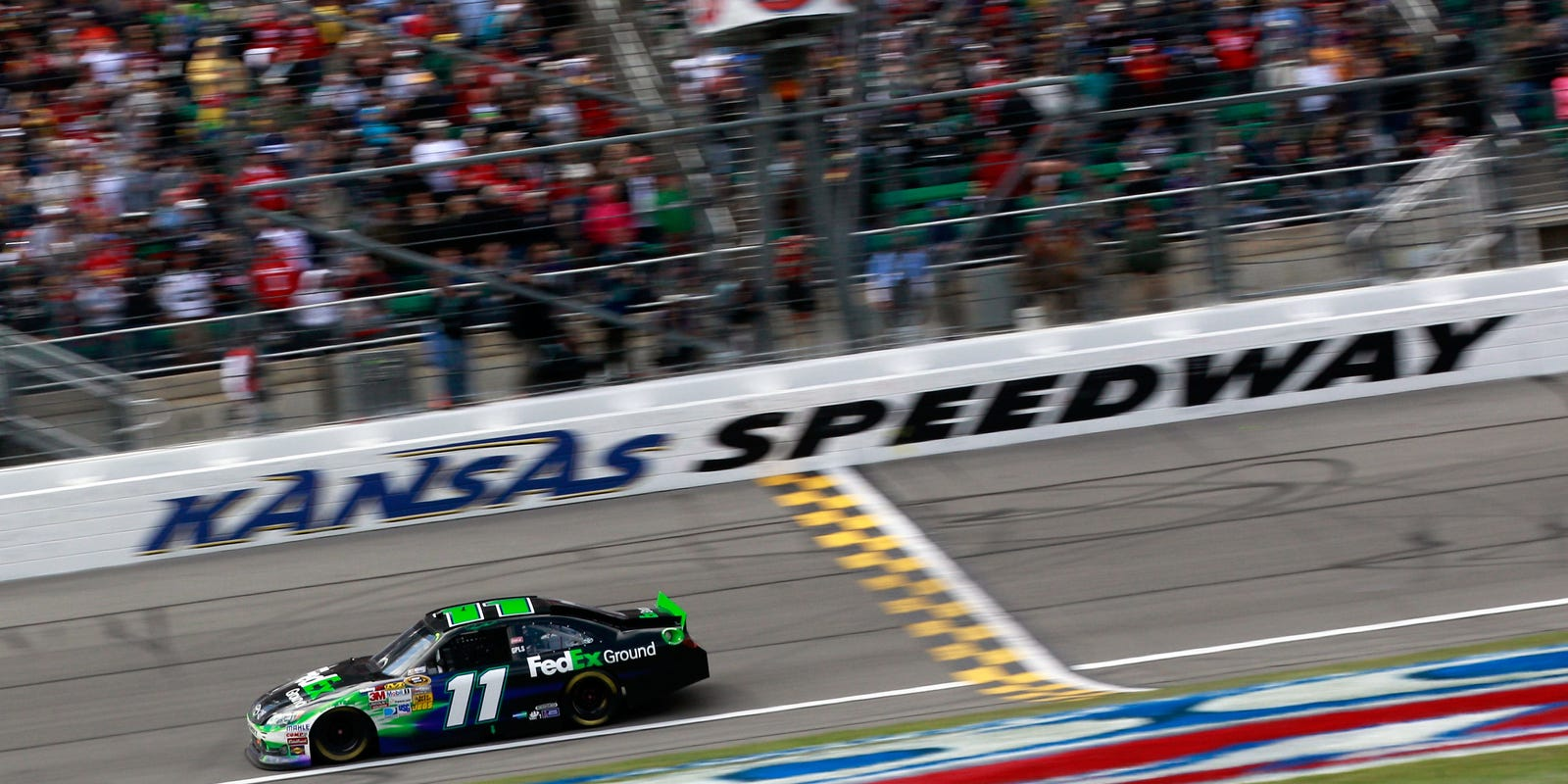 Kansas Speedway Longer Waits For Fans No Policy Change