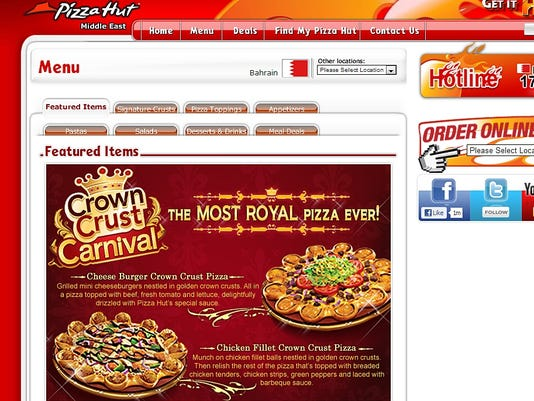 pizza hut crown crust DON'T OVERWRITE