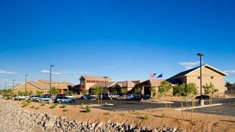 Rawson-Neal Psychiatric Hospital in Las Vegas is Nevada's primary state hospital for the mentally ill.