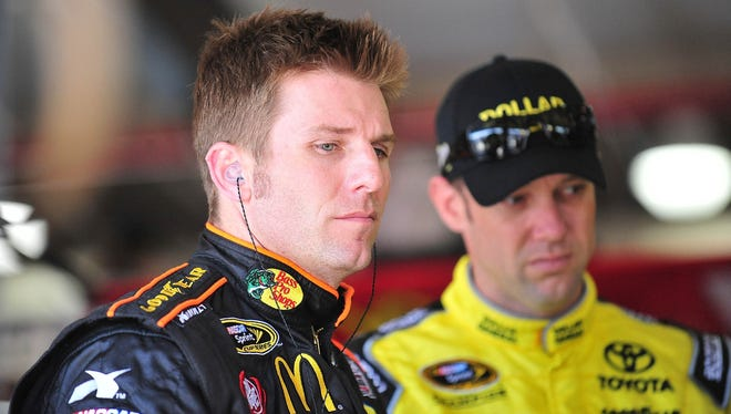 Though they're good friends now, Jamie McMurray, left, and Matt Kenseth used to be arch rivals.