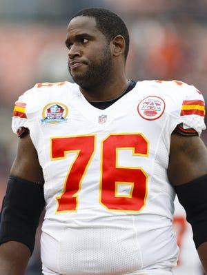 Kansas City Chiefs tackle Branden Albert would like a new long-term contract.