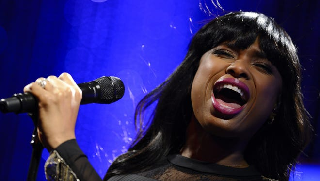 Jennifer Hudson performs during the Grammys on the Hill Awards on April 17 in Washington, D.C.