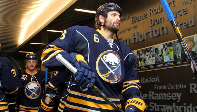 Buffalo Sabres defenseman Mike Weber said the team never lost faith, even after three key players were traded.