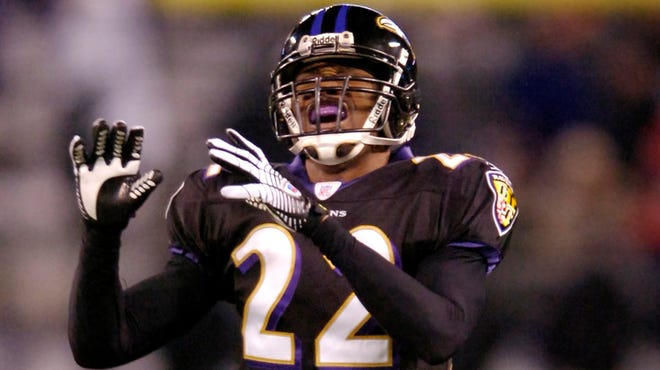 Baltimore Ravens' Samari Rolle, shown here in 2007, is suing surgeon Craig Brigham, alleging Brigham botched a spinal procedure and still cleared him to play.