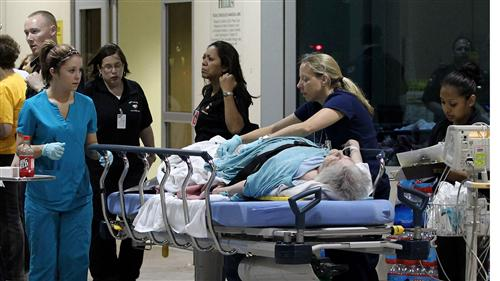 Dramatic images from West, Texas explosion: USA NO...