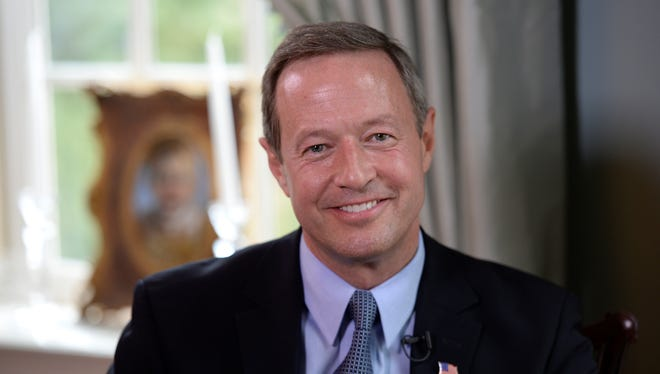 Maryland Gov. Martin O'Malley has been mentioned as a possible Democratic candidate for president.
