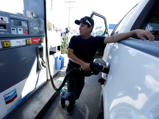 Gas prices could fall 20 cents a gallon by Memorial Day