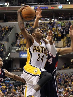 Paul George recorded the second triple-double in Pacers playoff history.