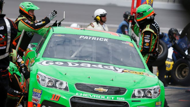 Danica Patrick on David Gilliland: 'He tries to take me out every time.'