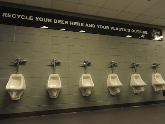 rest room recycling