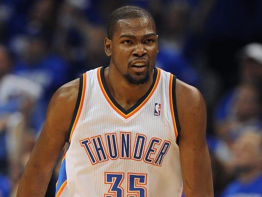 2013-04-21 Kevin Durant Thunder Game 1