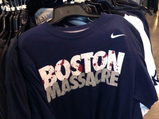 boston massacre t shirts