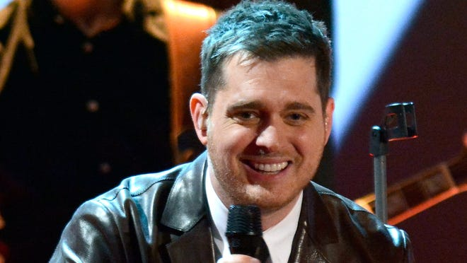 Michael Buble has a new album out and a baby boy on the way.