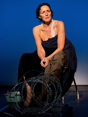 Fiona Shaw in has the titular -- and only -- role in 'The Testament of Mary.'