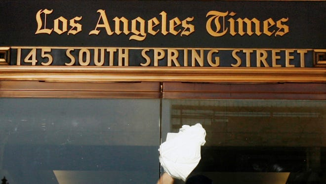 According to a federal indictment, a hacker used information Matthew Keys supplied to alter a headline on a Los Angeles Times story.