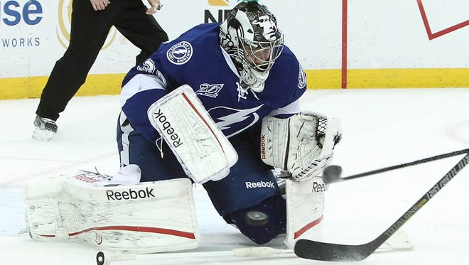 Tampa Bay Lightning goalie Ben Bishop will play for the USA at the World Championships.
