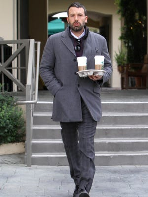 Wonder how much Ben Affleck spent on coffee on March 19 in Los Angeles.