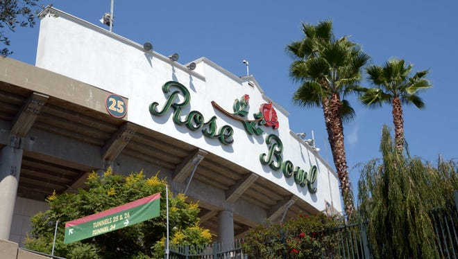 The Rose Bowl already has been determined as a college football playoff site.