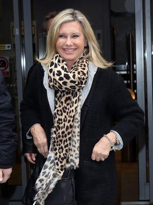 Olivia Newton-John on March 7 in London.
