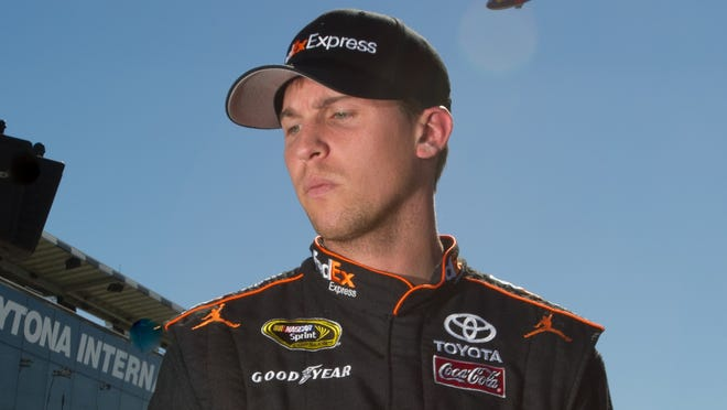 Denny Hamlin announced Wednesday on Twitter that he was not cleared by doctors to return to racing this weekend at Richmond.